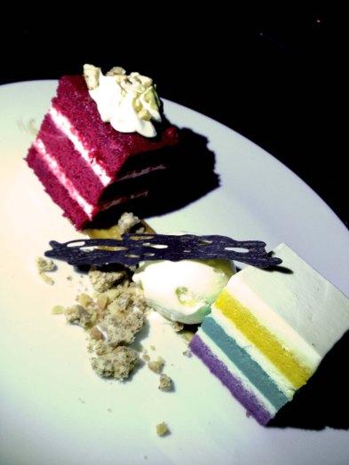 Red Velvet & Rainbow Cake
