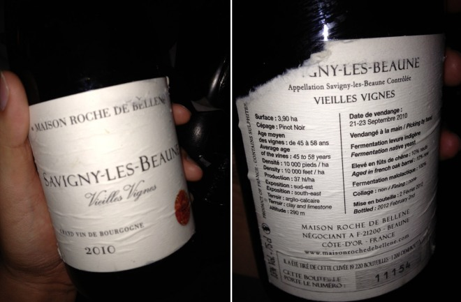 Savigny Les Beaunes