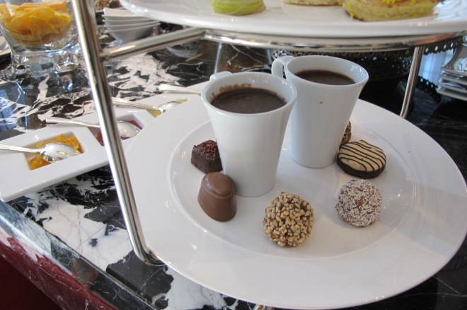 luxury high tea set godiva keraton lounge