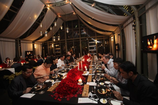 Glenfiddich 125th Dinner Jakarta